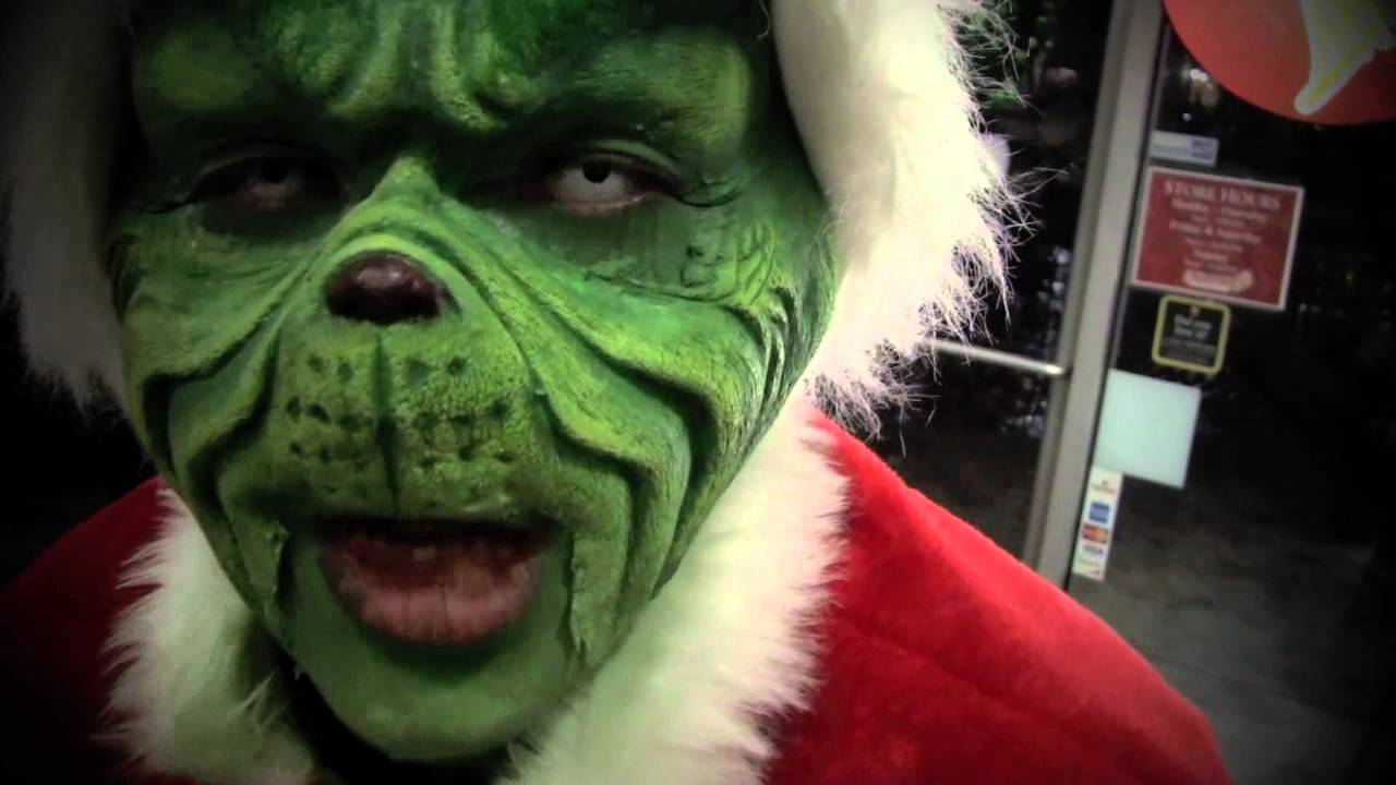Jim carrey grinch makeup