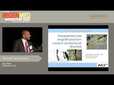 Company Presentation - Advanced Cell Technology (ACT)