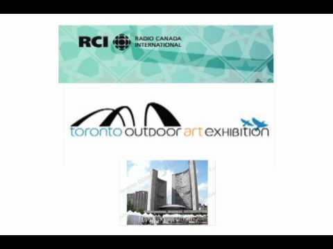 2010 RCI-CBC Radio Arabic Interview Toronto Outdoor Art Exhibition