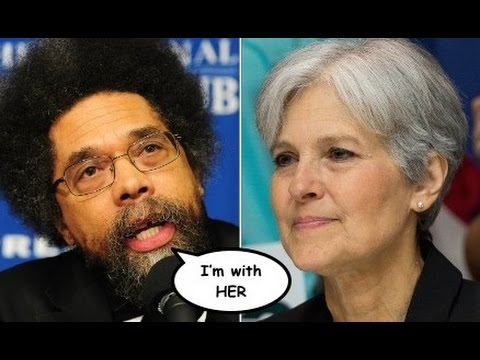 Cornel West Perfectly Explains Why He's Supporting Jill Stein Over Hillary Clinton