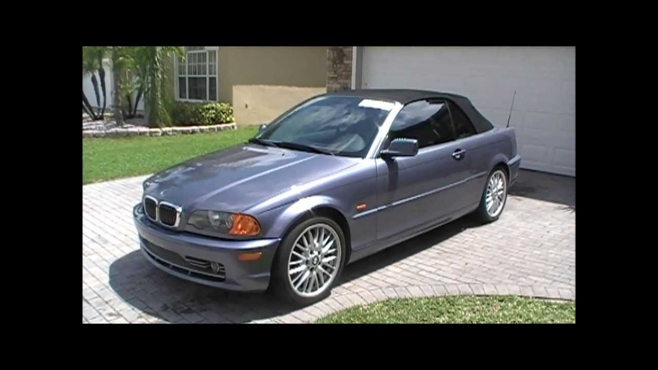 Rebuildable Bmw For Sale 2002 330ci Convertible E46 Youtube