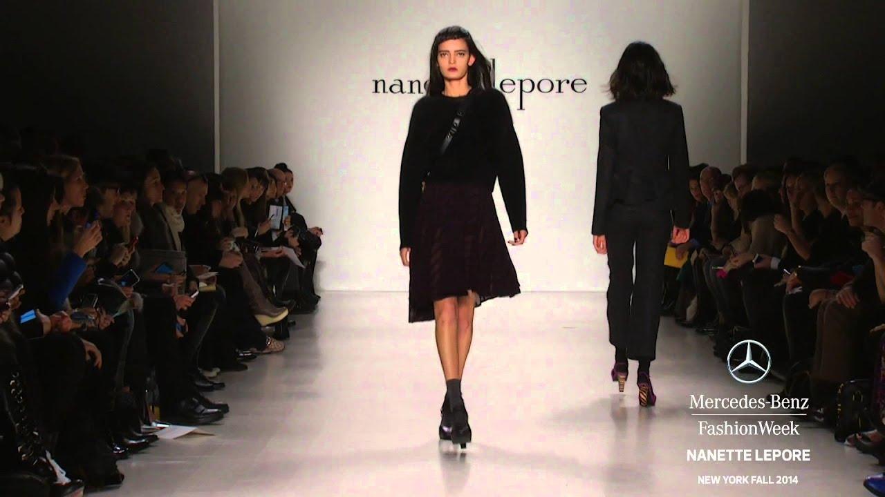 Nanette lepore mercedes benz fashion week fall 2014 for Mercede benz fashion week