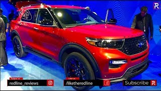 2020 Ford Explorer ST – Redline: First Look – 2019 NAIAS