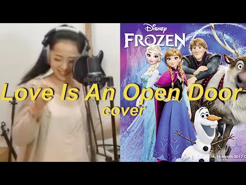 download lagu Love Is An Open Door Cover - Karina Sali gratis