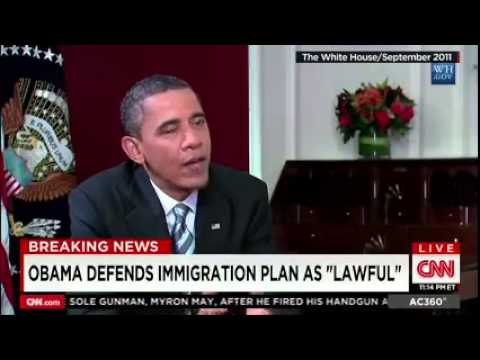 Jay Carney Admits Obama Flip-Flopped On Immigration Actions