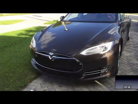 2013 Tesla Model S -- Specs. Interior. and Test Drive the Tesla Model S