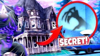 NEW HAUNTED HOUSE *ALL LOCATIONS* FOUND WITH SECRETS IN FORTNITE! SEASON 6 HALLOWEEN UPDATE!: BR