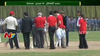 Canada PM Justin Trudeau Plays Cricket with Indian Cricket Legends