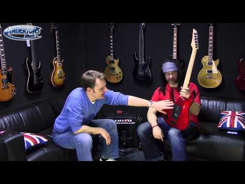 Ibanez RG550XH - Amazing 30 Fret Guitar - Chappers Shreds Out (& reviews it too!)