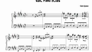 Real Piano Blues  | +SHEET MUSIC (Fabio Gianni)