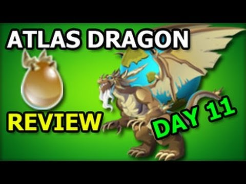 ATLAS DRAGON Olympus Island Dragon City Egg and Level Up Fast Review DAY 11