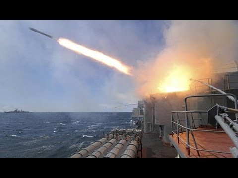 Russian missiles 'hit IS in Syria from Caspian Sea'