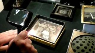 The making of a daguerreotype