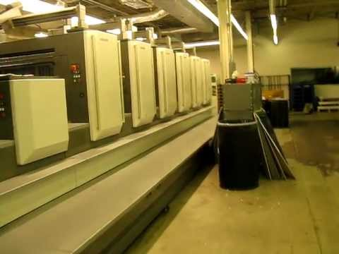 Komori LS40 Lithrone printing press