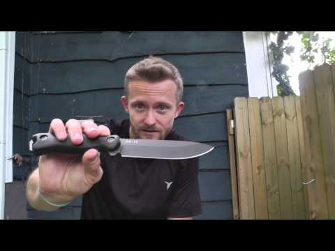 The Rare KA-BAR BECKER BK - 16 with a Saber Grind - The Outdoor Gear Review