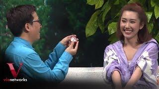 Thúy Ngân được Trường Giang cầu hôn ngay trên sóng truyền hình - Ơn Giời Cậu Đây Rồi [Full HD]