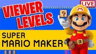 Playing YOUR Super Mario Maker Levels!! [Randomly Selected]