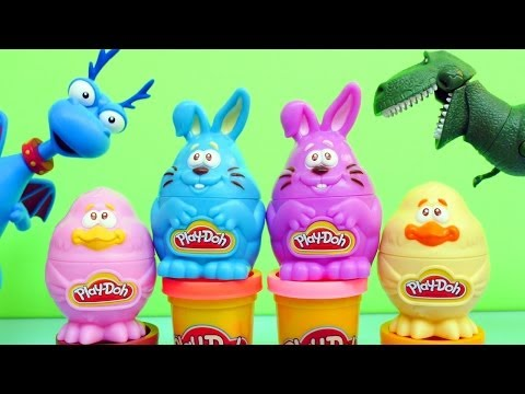 Play Doh Easter Bunny & Chick Stampers Play-Doh Doc McStuffins and Toy Story 3 Rex from Target