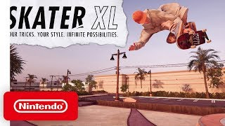 Skater XL - Announcement Trailer - Nintendo Switch