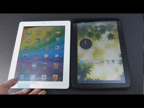 Video: Apple iPad 3 vs Motorola DROID XYBOARD 10.1