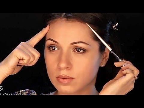 Уроки макияжа. Коррекция формы лица с помощью макияжа. Коррекция овала лица.