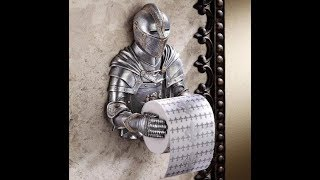 Toilet roll holder creative ideas