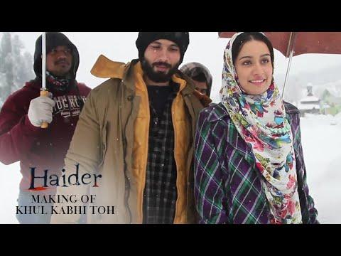 Haider | Khul Kabhi Toh Song Making | Music: Vishal Bhardwaj | Shahid Kapoor, Shraddha Kapoor
