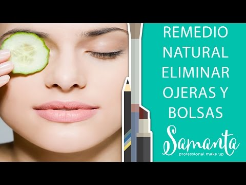 remedio natural para eliminar ojeras y bolsas