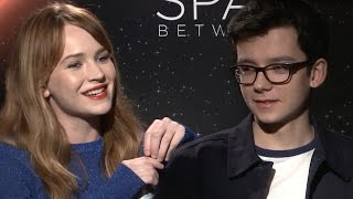 Asa Butterfield, Britt Robertson Spill On Filming