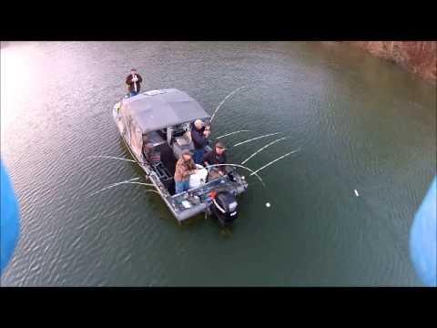 Lance Sasser Striper Fishing Lake Cumberland