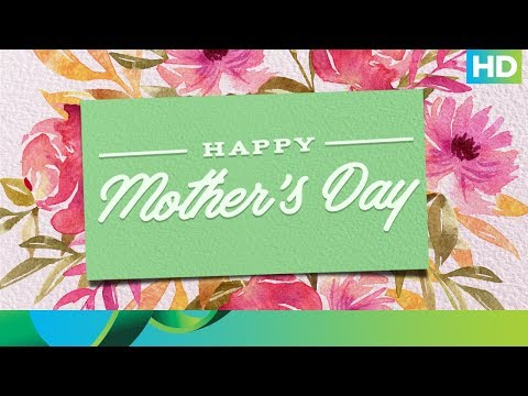 An Ode To All Mothers - Happy Mothers day!!!