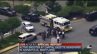Multiple people shot at Annapolis, Maryland newspaper office