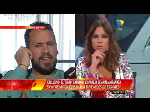 Ogro Fabbiani: Nunca estuve enamorado de Amalia