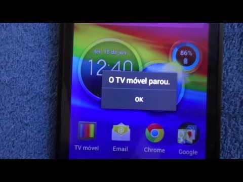 Motorola Razr D1 - XT918 - Defeito/Problema na TV Digital (1 dia de uso)