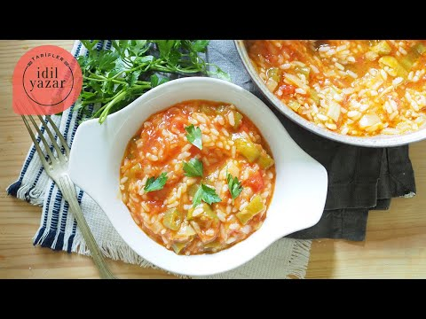 Anneannemin Adilok Tarifi - Zeytinyağlı Domates Yemeği - İdil Tatari