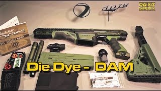 Unboxing DYE DAM - Dye Assault Marker by PAINT SUPPLY Paintball Shop