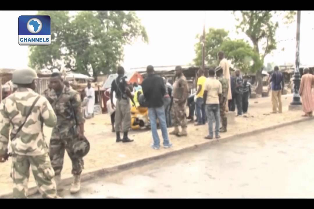 Security Beefed-up After Suicide Attack On Maiduguri Market -- 31/07/15