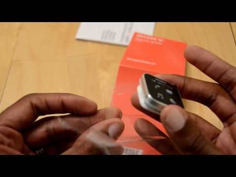 Sony Smartwatch (Android) Unboxing