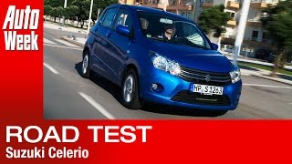 Suzuki Celerio road test