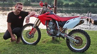 GOT MY DREAM DIRTBIKE AT AGE 24!