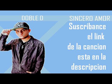 MC Stoner Ft Doble D-Sincero Amor  + Letra 2013