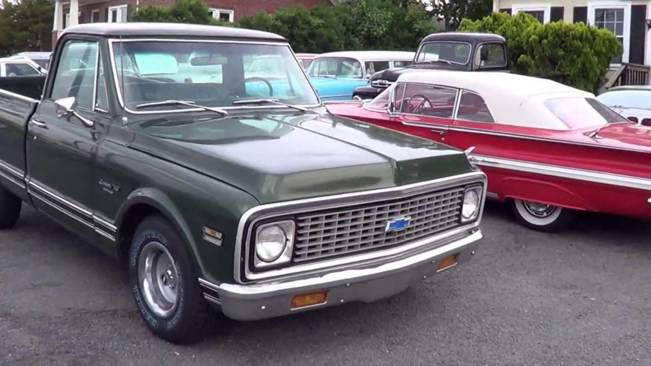 1971 71 Chevrolet C10 Custom Deluxe Pickup For Sale Youtube