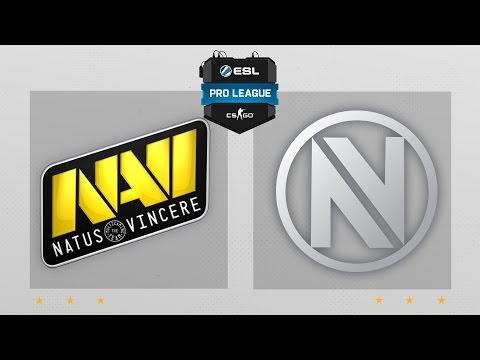 CS:GO - NaVi vs. EnVyUs [Mirage] Map 2 - ESL Pro League Season 4 - EU Matchday 27