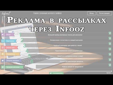 Покупка рекламы в рассылках через Infooz. Инструкция и результаты