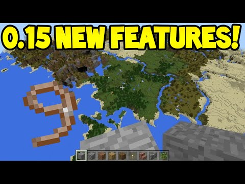 Minecraft Pocket Edition - 0.15.0 Update! - LEAD Confirmed! /512 Height Limit