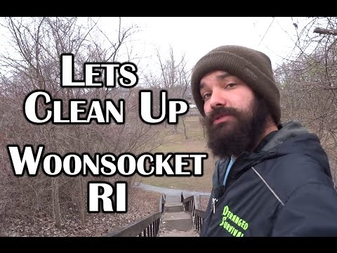 Lets Clean Our City Together - Woonsocket RI - Deranged Survival