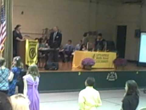 Littlefield Middle School Jr. Beta Club Induction