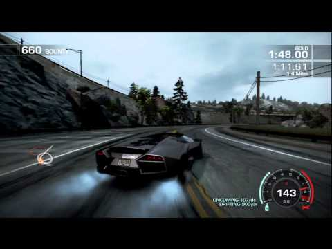 Need for Speed: Hot Pursuit - Lamborghini Reventon Roadster Gameplay