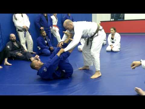 Renato Charuto Verissimo at Pendergrass Academy - Spider Guard to Triangle/Omoplata Set Up Image 1