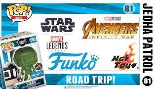 Epic Road Trip - Funko Pop Chase Hunt - Marvel Legends - Hot Toys